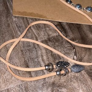 Forever 21 Jewelry - Forever 21 Boho Turquoise Stone Wrap Necklace